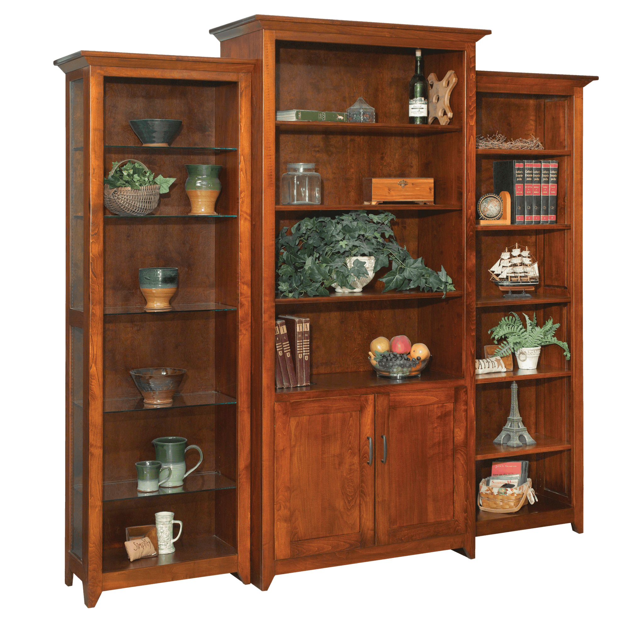 Dimension Four Bookcases PA